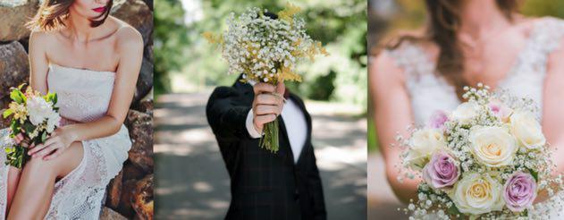 arreglos de flores boda