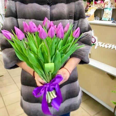 Flores a domicilio -ramo de 30 tulipanes 1