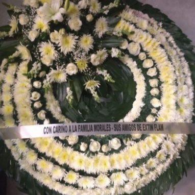 Corona Fúnebre Grande Tradicional