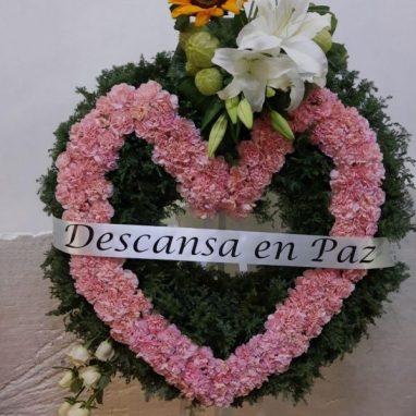 Corazón Fúnebre en tripié