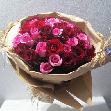 Ramo de rosas vintage