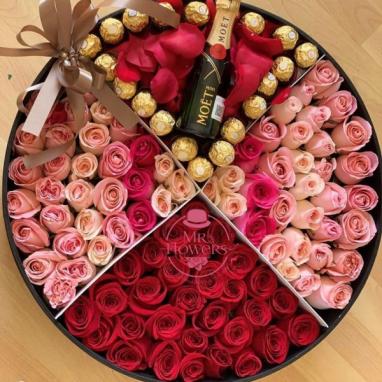 Box Mix Rosas